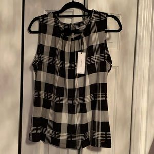 Calvin Klein's sleeveless top! NEW with tags!